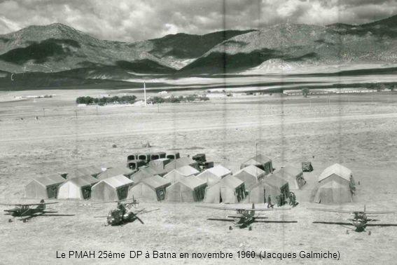 PMAH 27ème DIA - Tizi-Ouzou 1958 - MdL pilotes Aubry, Citarrier, Montemard de Boisse, MdLC Brossard, MdL Jourdan et, derrière, Leclerc (André Jourdan)