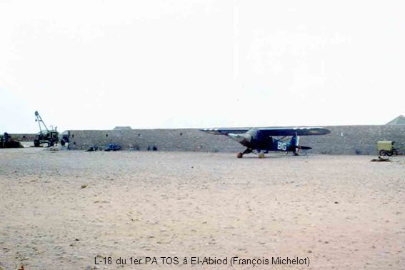 L-18 du 1er PA TOS à El-Abiod (François Michelot)