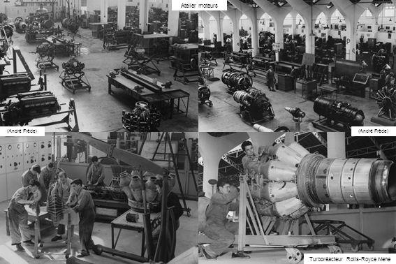 Atelier moteurs Turboréacteur Rolls-Royce Nene