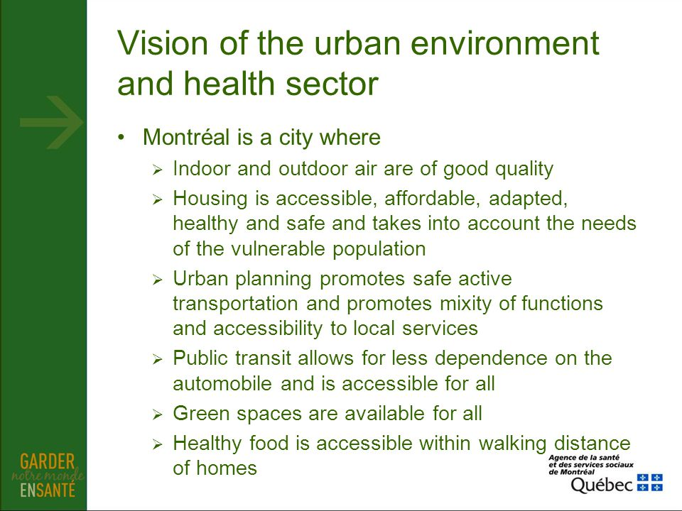 Food environment, food security Why are we interested in food system ?