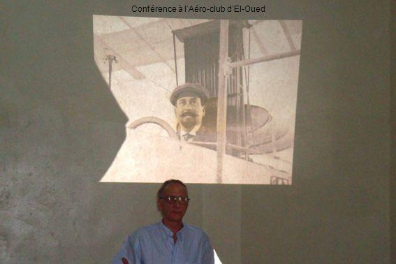 Conférence à lAéro-club dEl-Oued