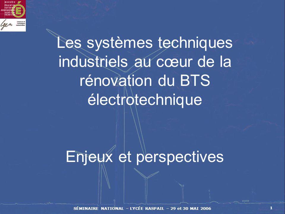 SÉMINAIRE NATIONAL – LYCÉE RASPAIL – 29 et 30 MAI 2006 Synthèse des 9 possibilités Transformer T Déplacer D Stocker S Produit p TpDpSp Énergie w TwDwSw Information i TiDiSi