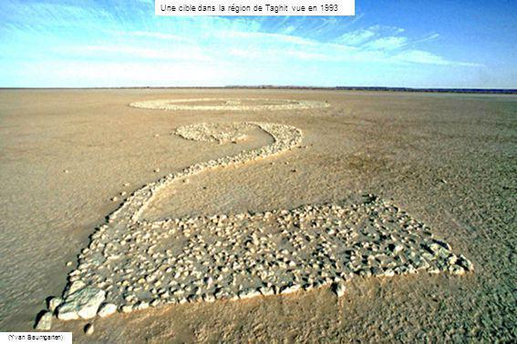 La répartition dune partie des cibles, observée entre Kerzaz et Ougarta, en 2011 sur Google Earth Dernière diapositive