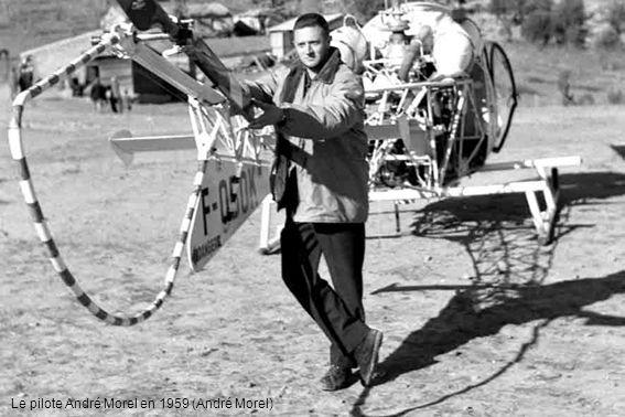 Le pilote André Morel en 1959 (André Morel)