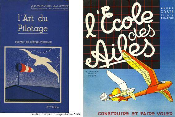 Les deux principaux ouvrages dAndré Costa