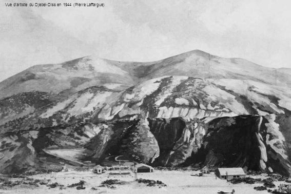 Vue dartiste du Djebel-Diss en 1944 (Pierre Laffargue)