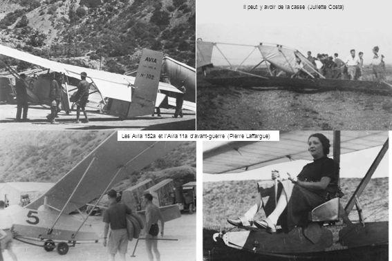 Il peut y avoir de la casse (Juliette Costa) Les Avia 152a et lAvia 11a davant-guerre (Pierre Laffargue)