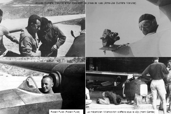Jacques Duchène Marullaz et son installation de prises de vues (Anne-Lise Duchène Marullaz) Le mécanicien Milankovitch saffaire sous le 40p (Henri Gan