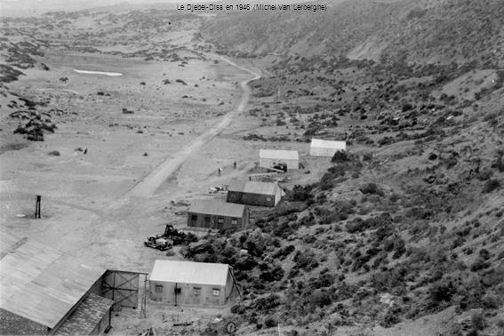 Le Djebel-Diss en 1946 (Michel Van Lerberghe)