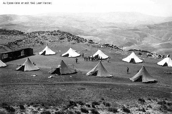 Au Djebel-Kallel en août 1942 (Jean Mercier)