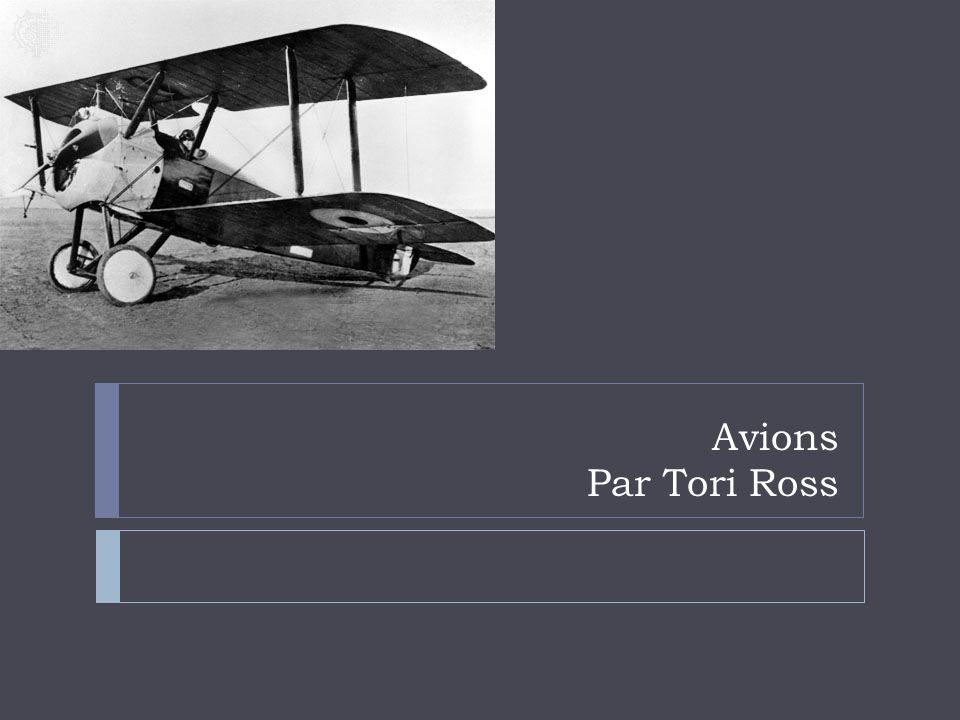 Avions Par Tori Ross