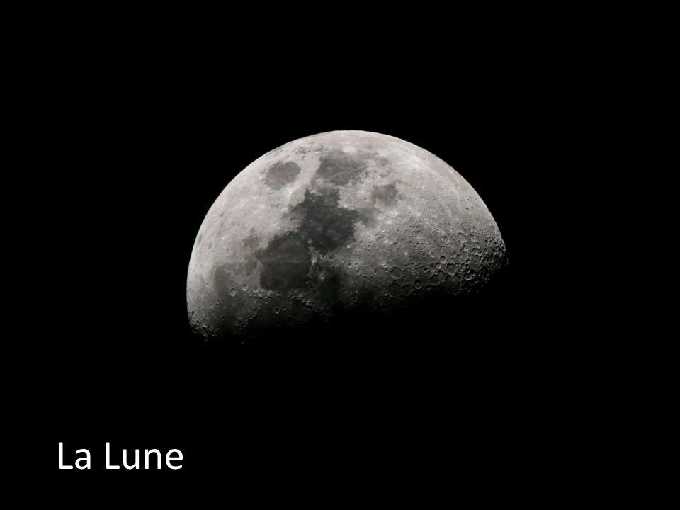 Décrivez notre lune .