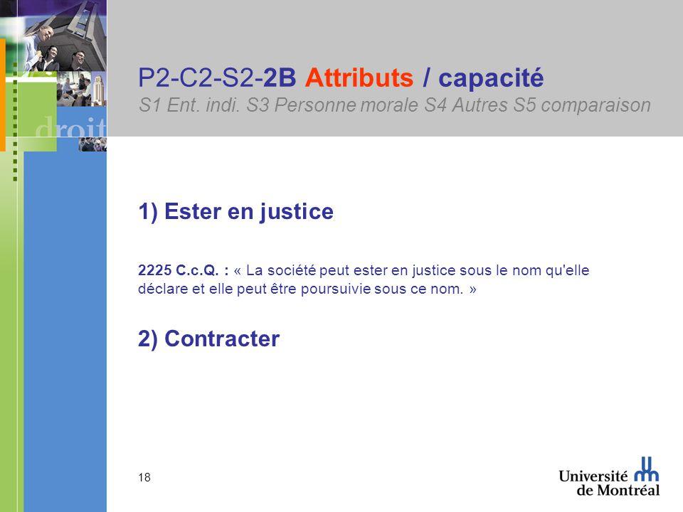 18 P2-C2-S2-2B Attributs / capacité S1 Ent. indi.