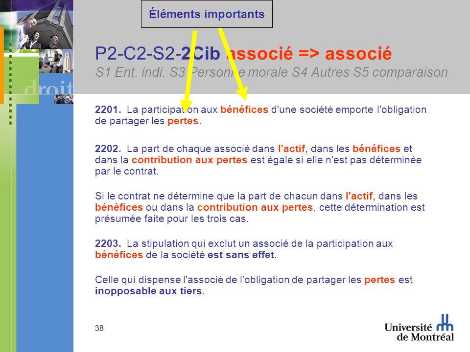 38 P2-C2-S2-2Cib associé => associé S1 Ent. indi.