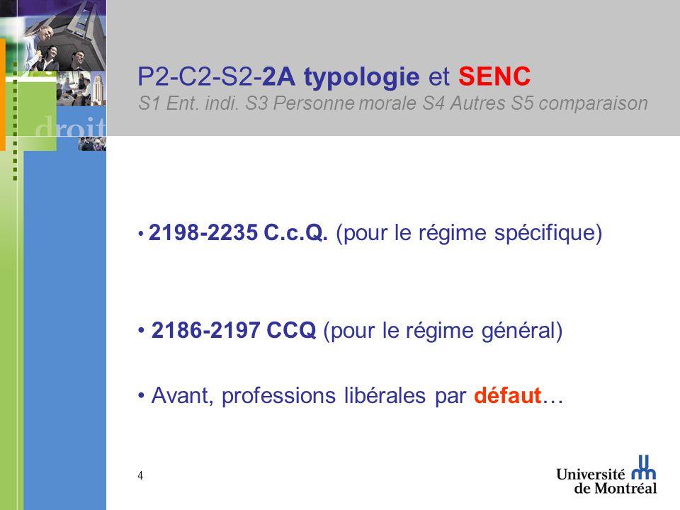 4 P2-C2-S2-2A typologie et SENC S1 Ent. indi.