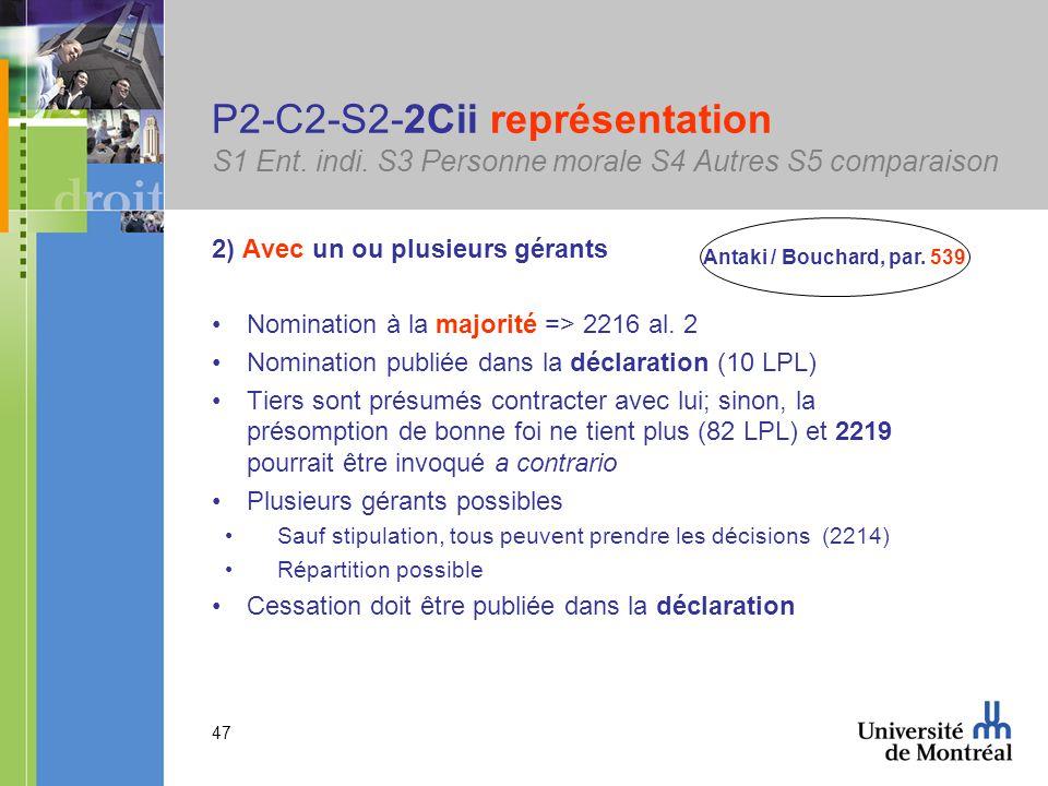 47 P2-C2-S2-2Cii représentation S1 Ent. indi.