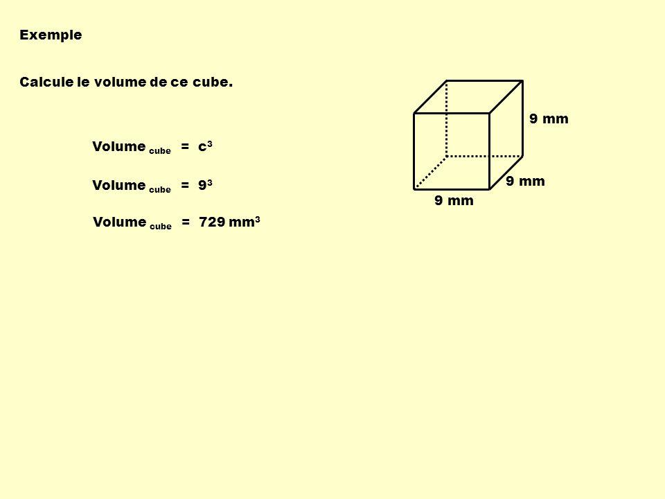 3 cm 5 cm Calcule le volume de ce cône.