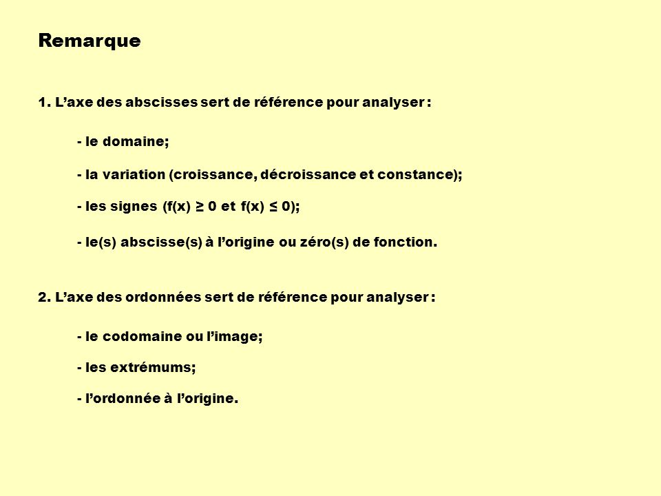 Remarque 1.