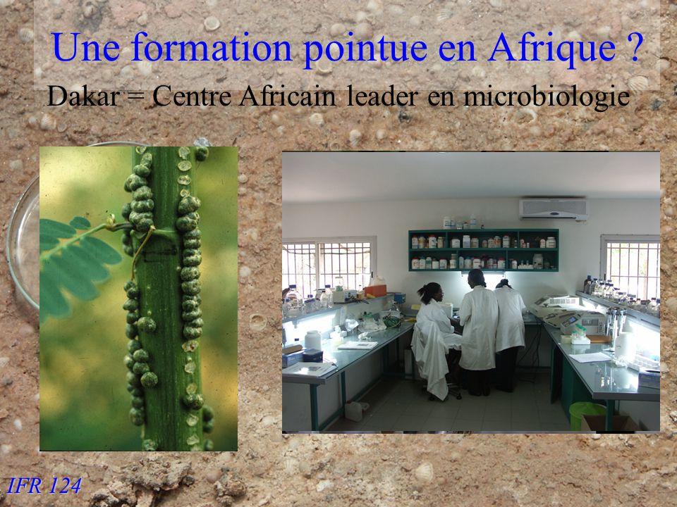 IFR 124 Une formation pointue en Afrique Dakar = Centre Africain leader en microbiologie