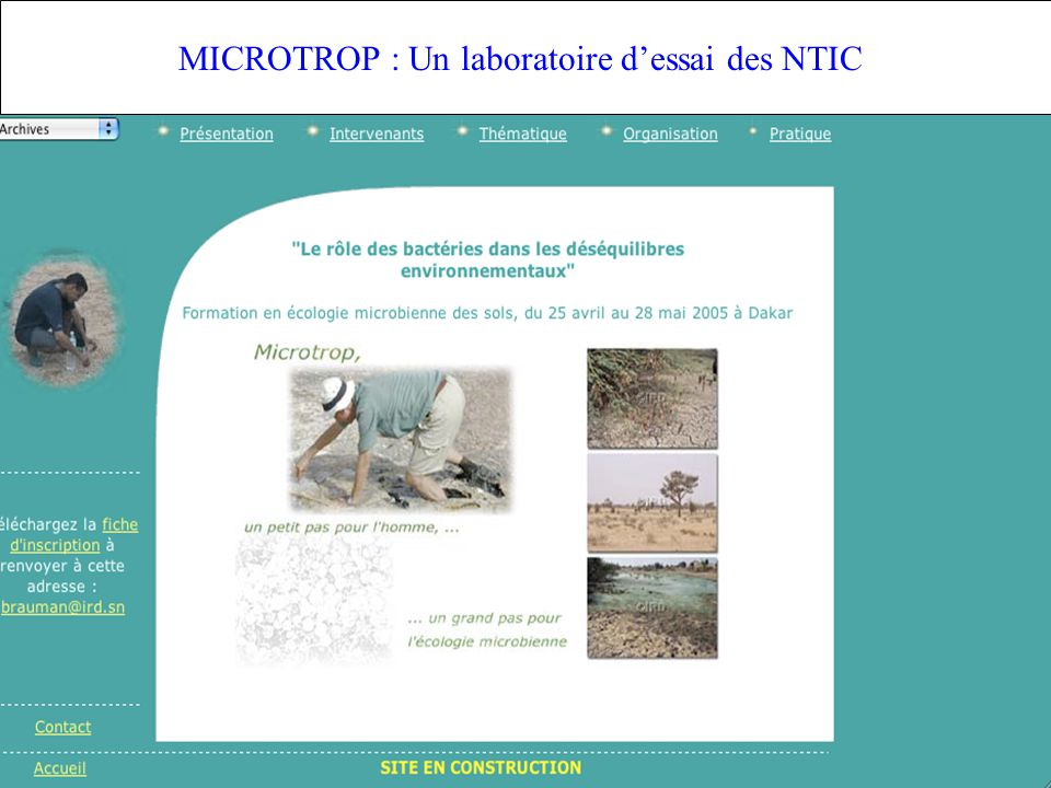 IFR 124 MICROTROP : Un laboratoire dessai des NTIC