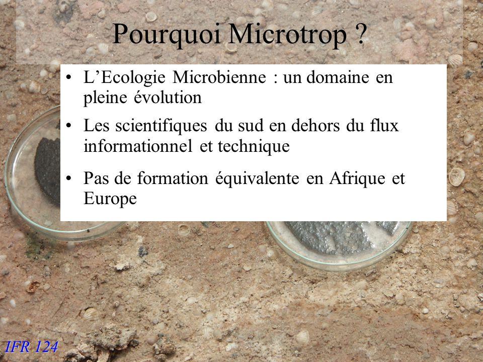 IFR 124 Pourquoi Microtrop .
