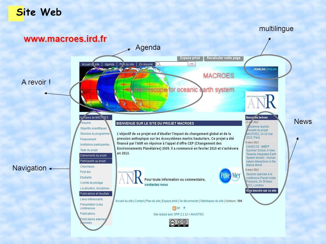 Site Web Le site web est donc fonctionnel Je suis le seul à le maintenir à jour Tout le monde peut le faire .