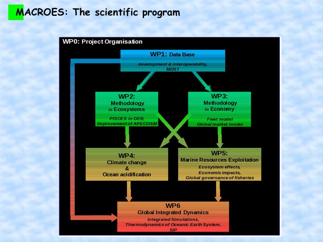 MACROES: The scientific program