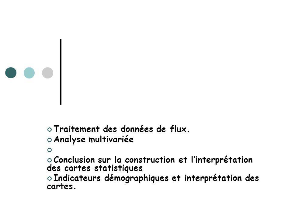 Traitement des données de flux.