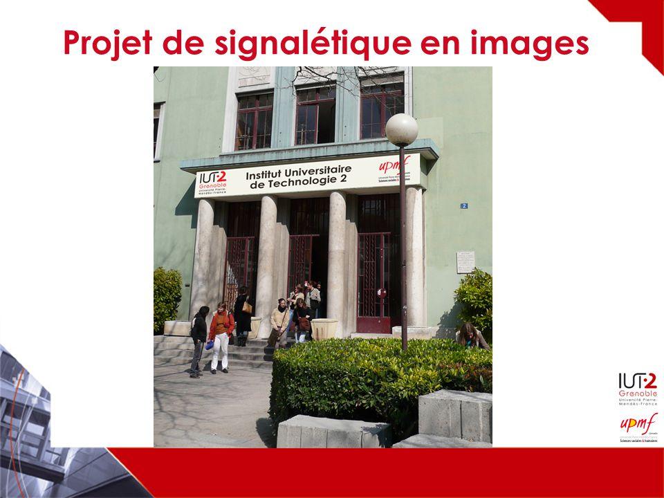 Projet de signalétique en images