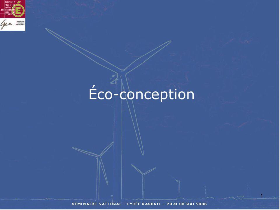 1 Éco-conception