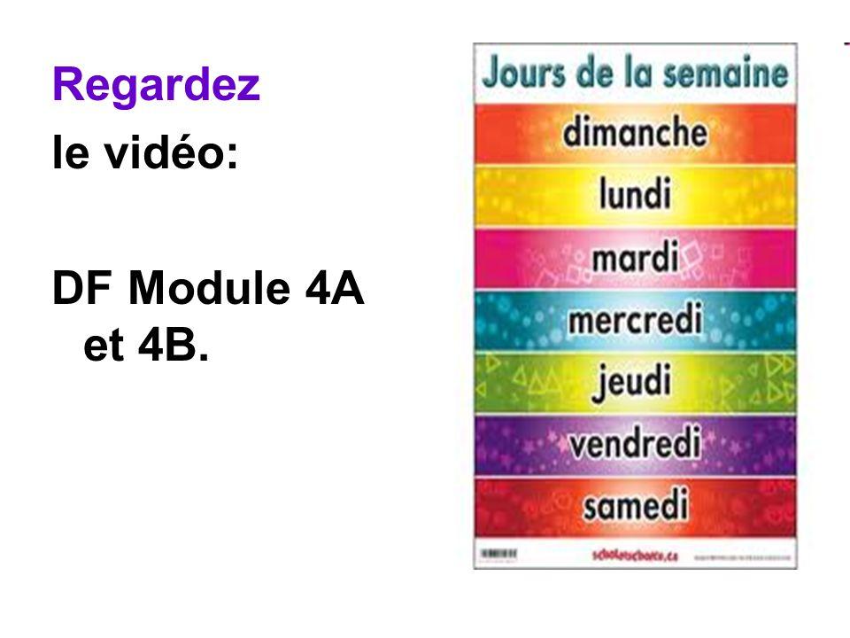 Regardez le vidéo: DF Module 4A et 4B.