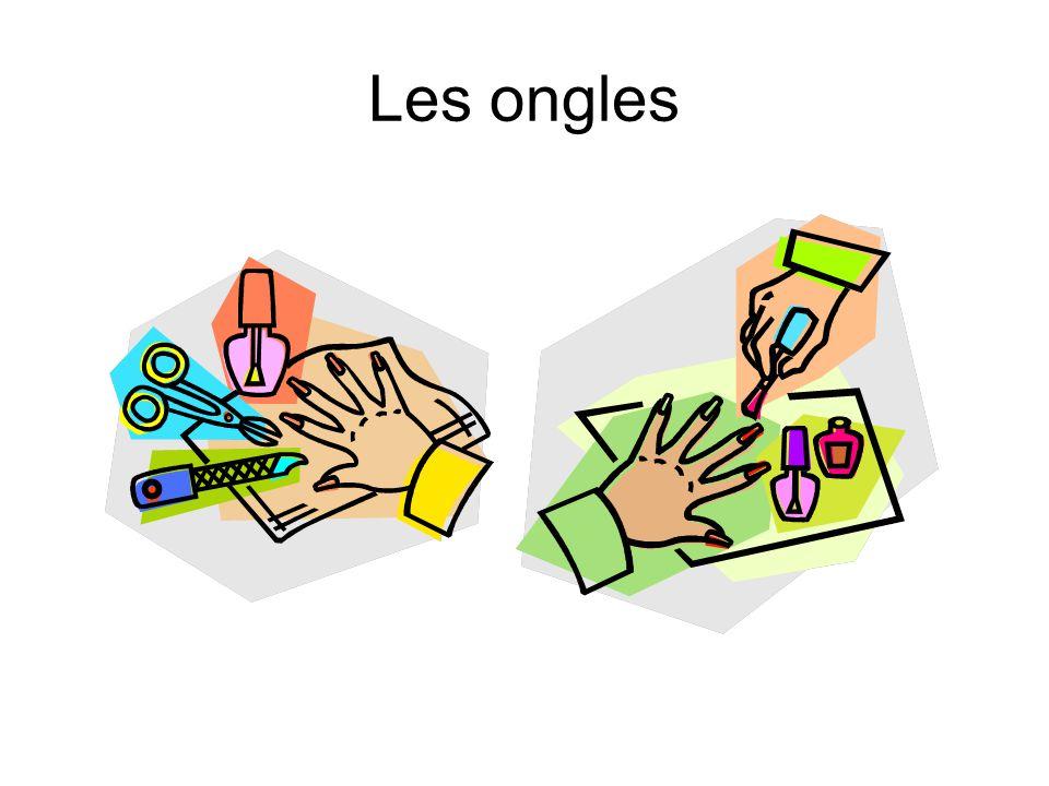 Les doigts et les doigts de pied