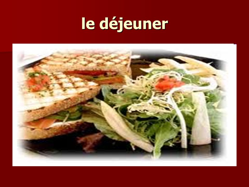 How to order in a café Vous désirez?May I help you.