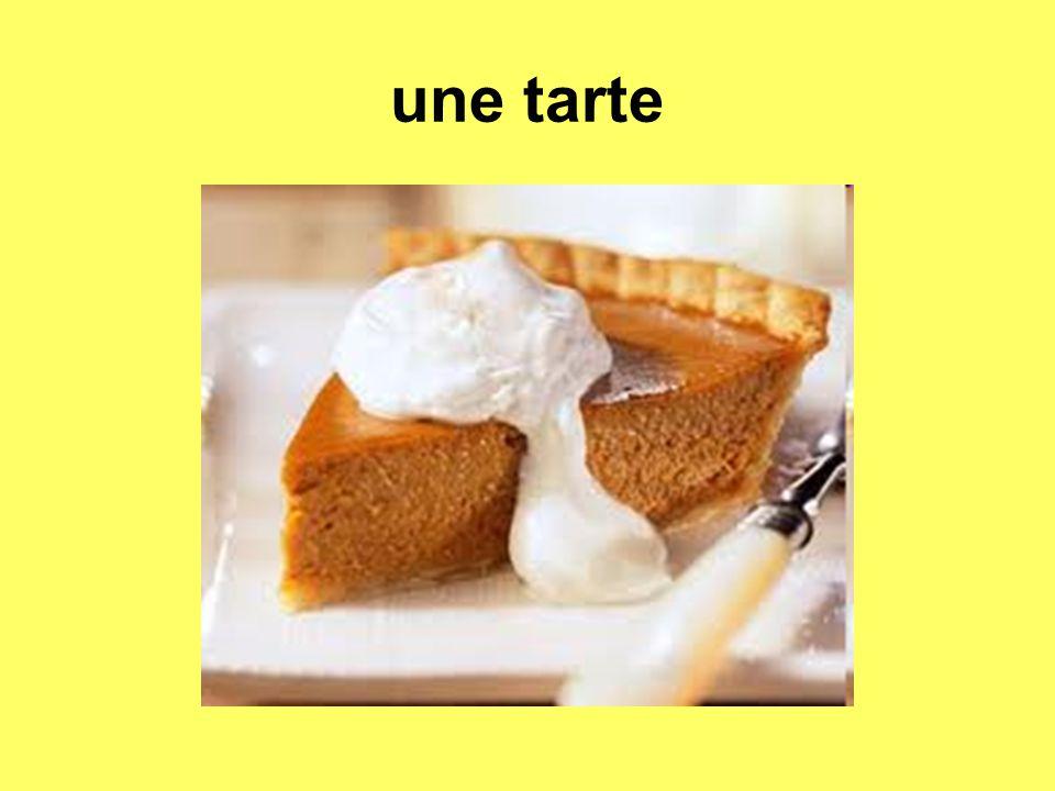 une tarte
