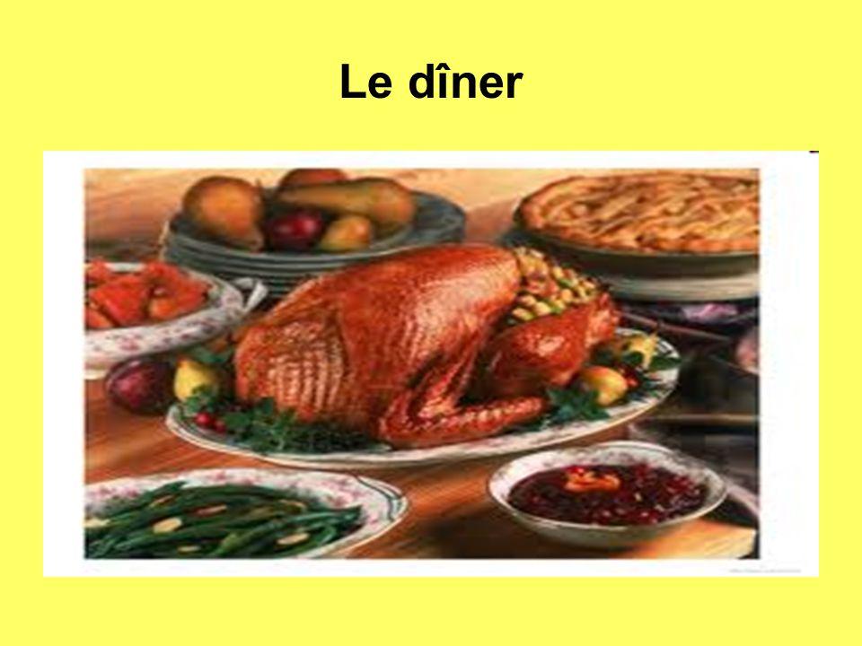 Le dîner
