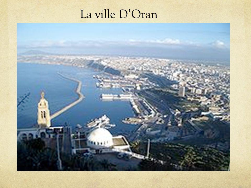La ville DOran