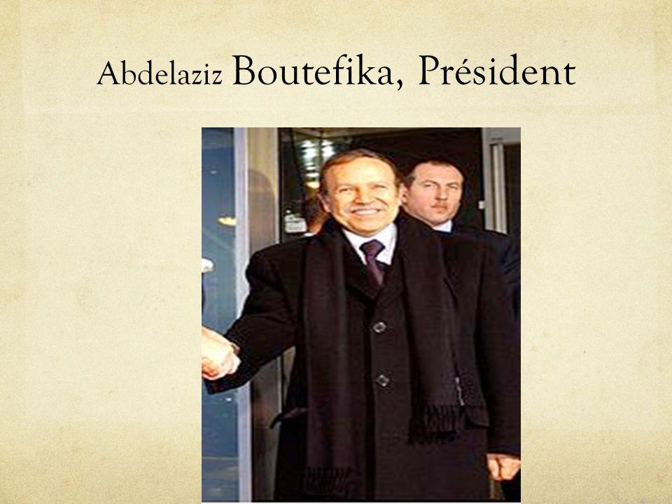 Abdelaziz Boutefika, Président