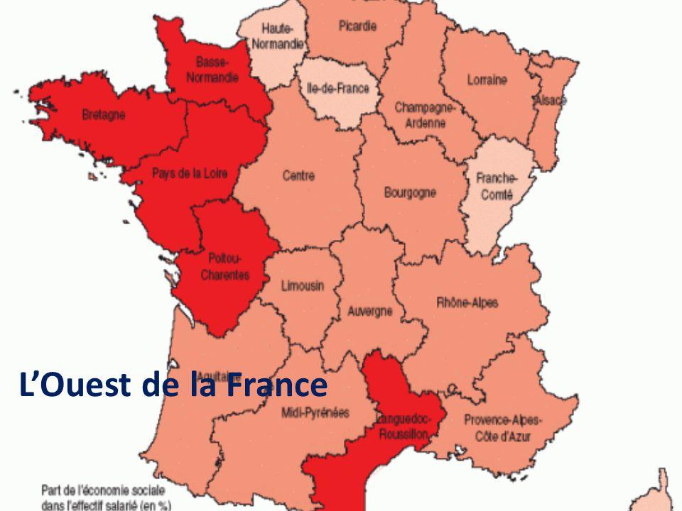 LOuest de la France