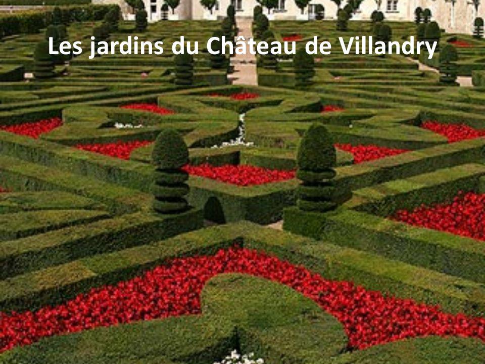 Les jardins du Château de Villandry