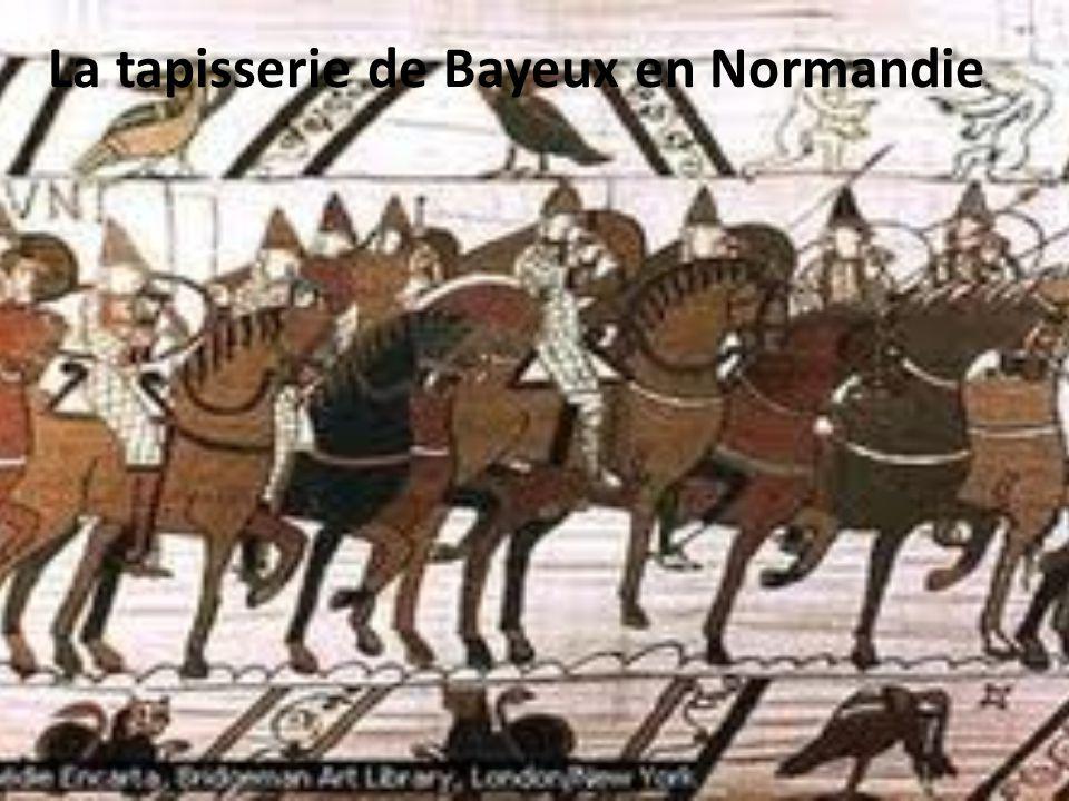 La tapisserie de Bayeux en Normandie