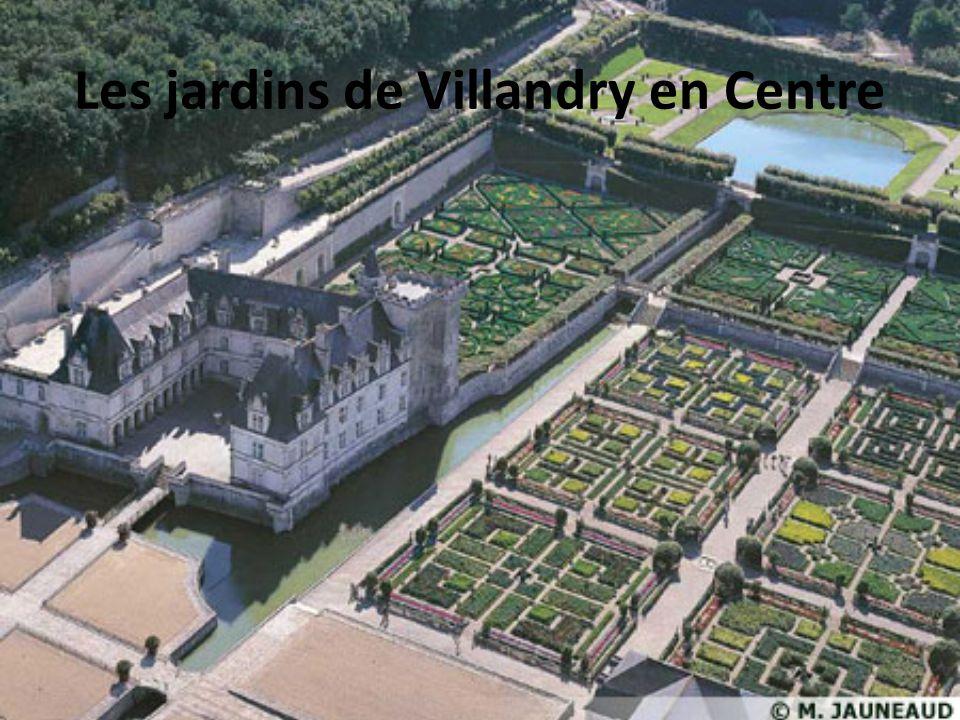 Les jardins de Villandry en Centre