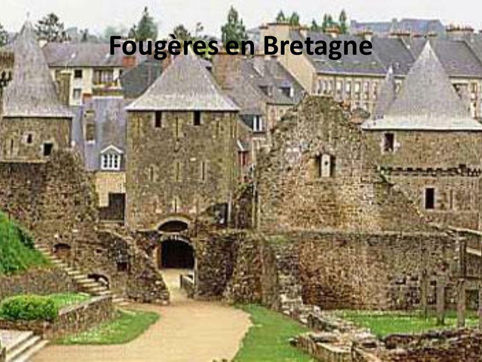 Fougères en Bretagne