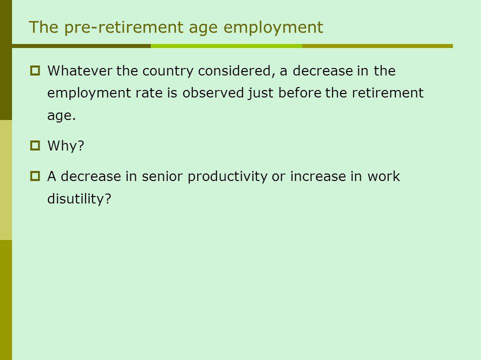 La faiblesse de lâge de la retraite est un problème pour lemploi des quinquas… et non linverse .