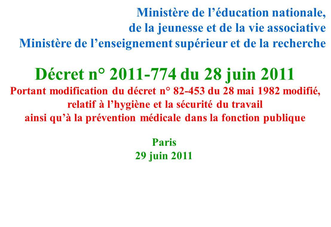Paris 29 juin 2011 Ministère de léducation nationale, de la jeunesse et de la vie associative Ministère de lenseignement supérieur et de la recherche