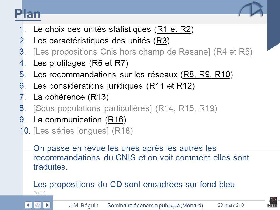 Page 9 Séminaire économie publique (Ménard)J.M.