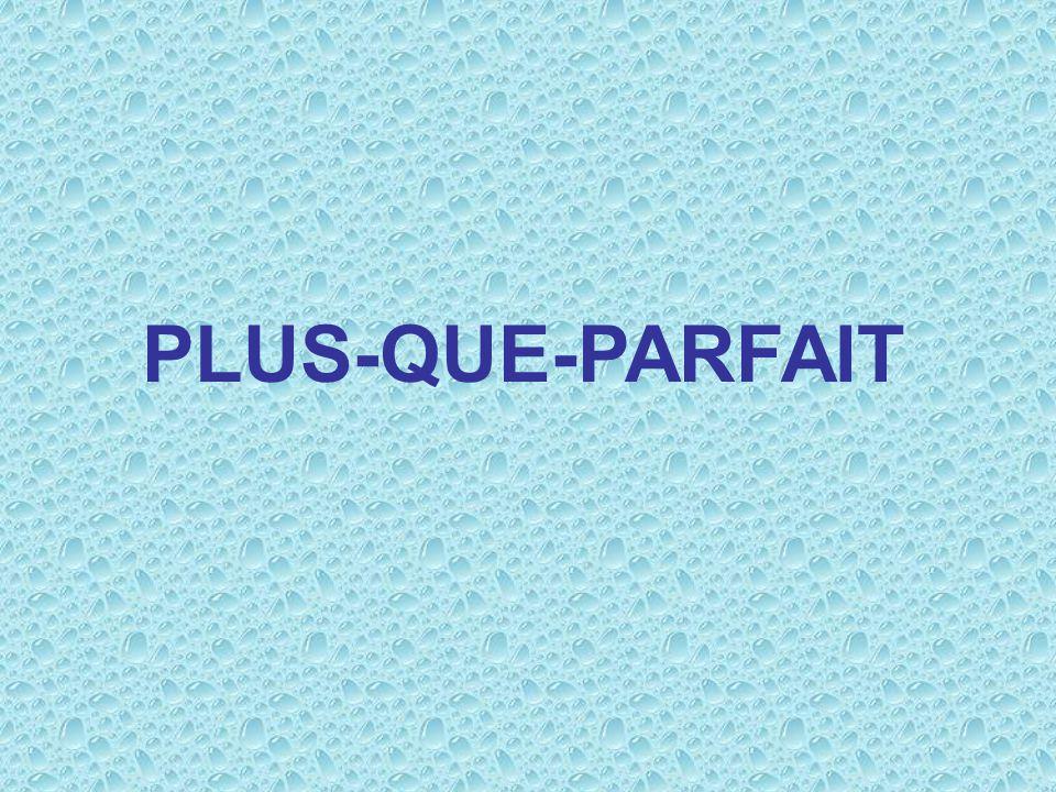 Remind yourself how the verb works in the passé composé, then… verbe auxillaire (en imparfait) + participle Javais lu ce roman.