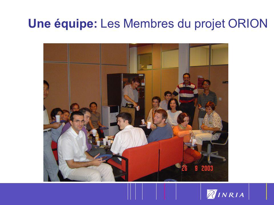 4 Une équipe: Les Membres du projet ORION
