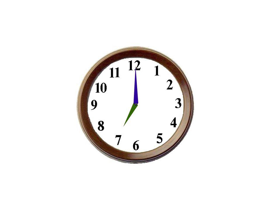 Il est six heures.