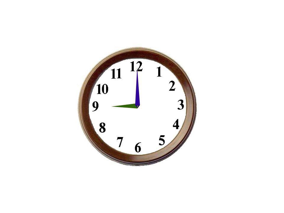 Il est huit heures.