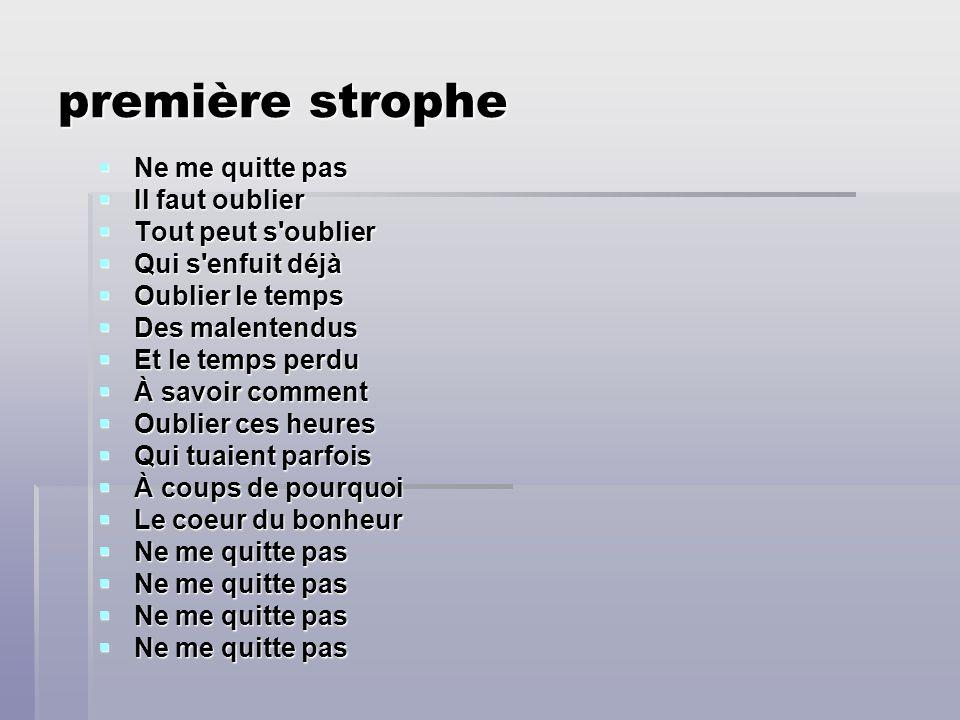 7/4/06 Jacques Brel chante ne me quitte pas! musique et paroles présentées par Nathan Love